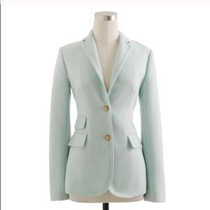 "J Crew Mint ""Hacking"" Blazer"